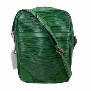 Louis Vuitton Crossbody bag Danube Green Epi